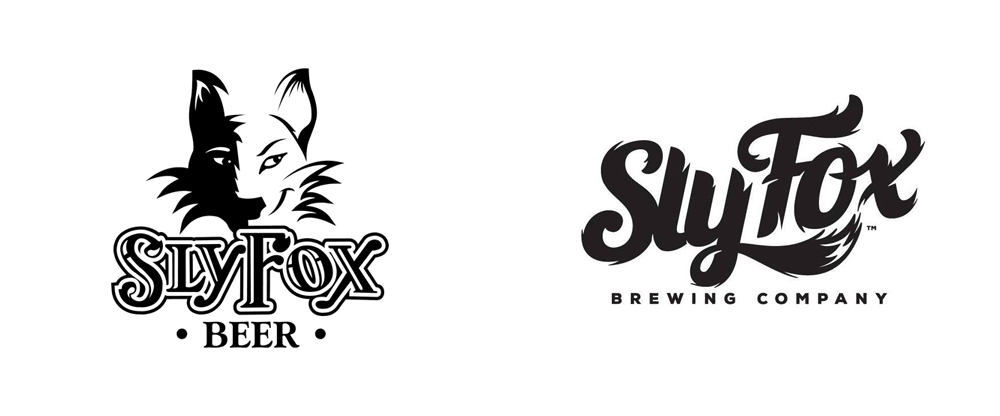 New Logo for Sly Fox Brewing