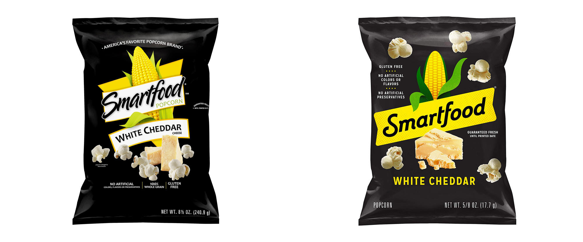 New Logo and Packaging for Smartfood