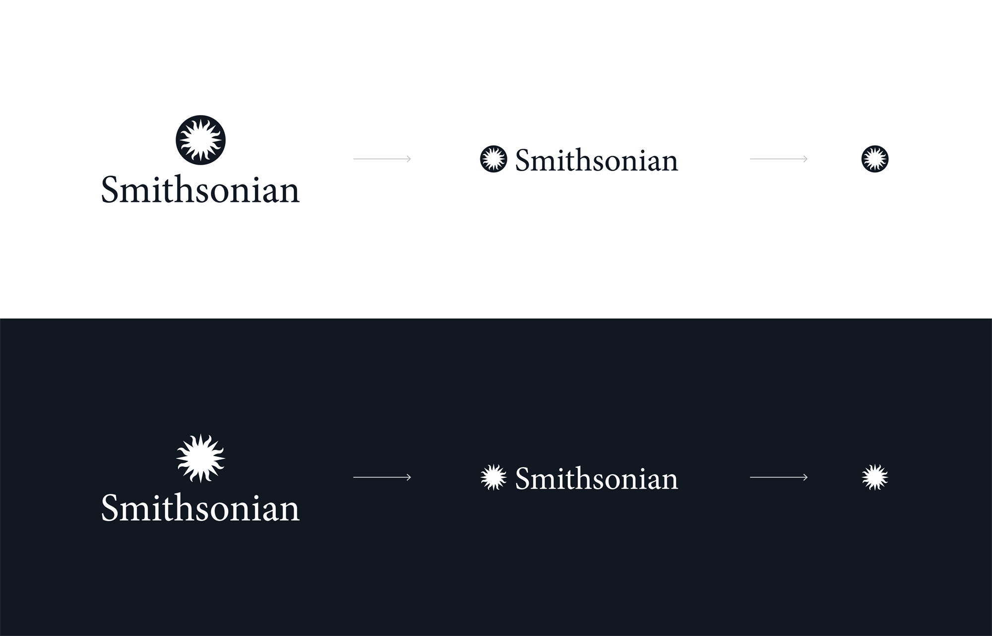 New Logo for Smithsonian Institution by Fisk Studio