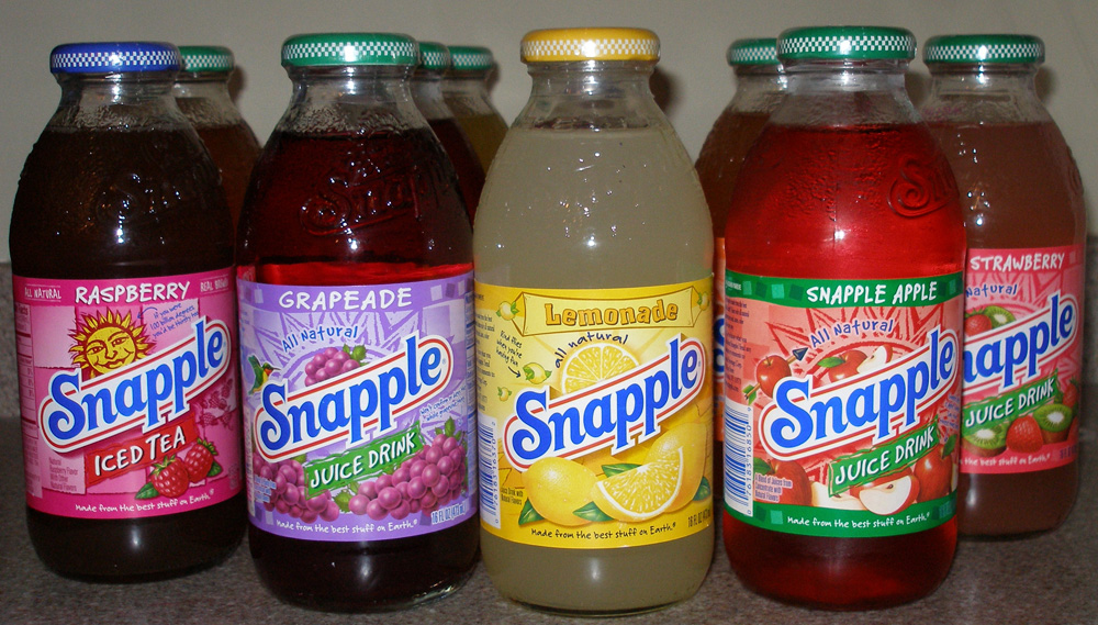 New Logo and Packaging for Snapple by CBX