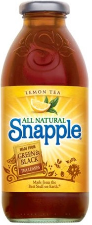 Snapple Bottle, Detail