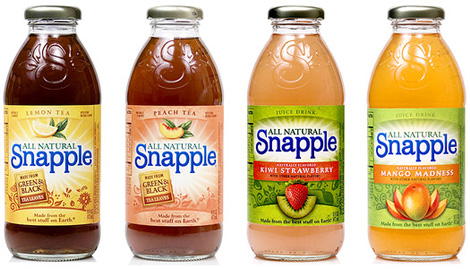 Snapple Bottle, Various
