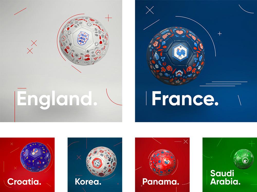 2018 World Cup Soccer Balls