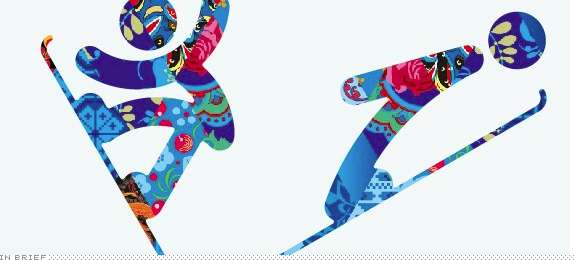 In Brief: 2014 Winter Olympic Games Pictograms