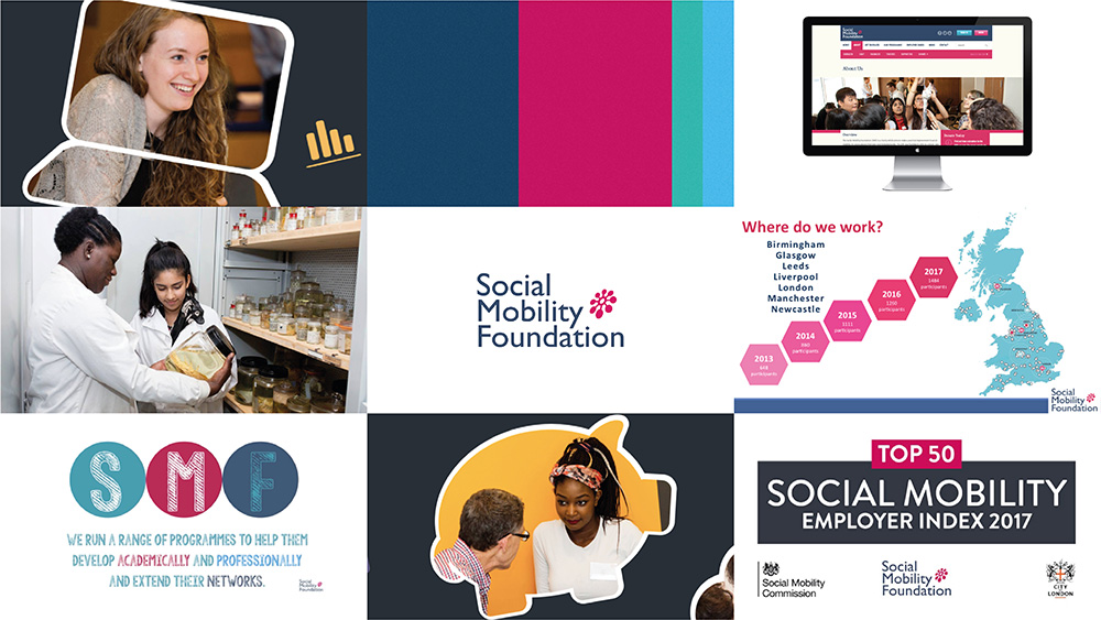 New Logo and Identity for Social Mobility Foundation by Jones Knowles Ritchie