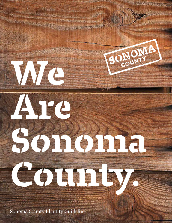 Sonoma County Logo and Identity