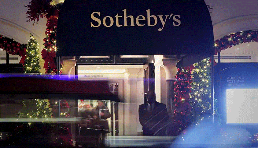 New Logo and Identity for Sotheby's by Pentagram