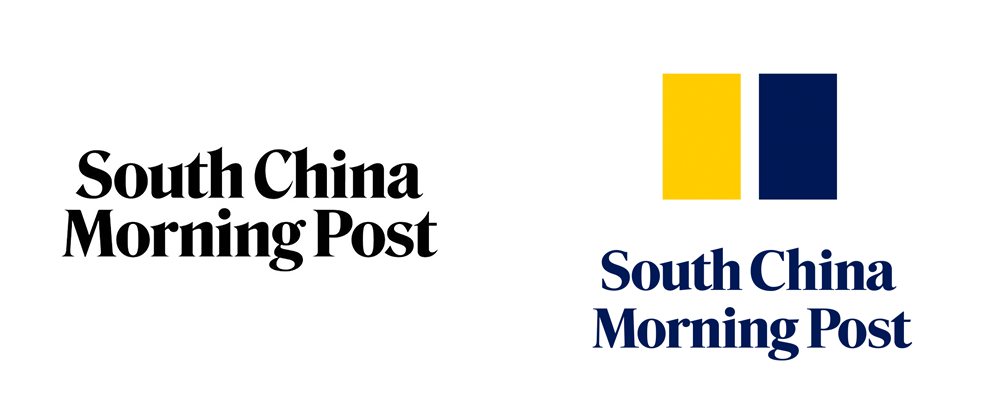 New Logo for South China Morning Post