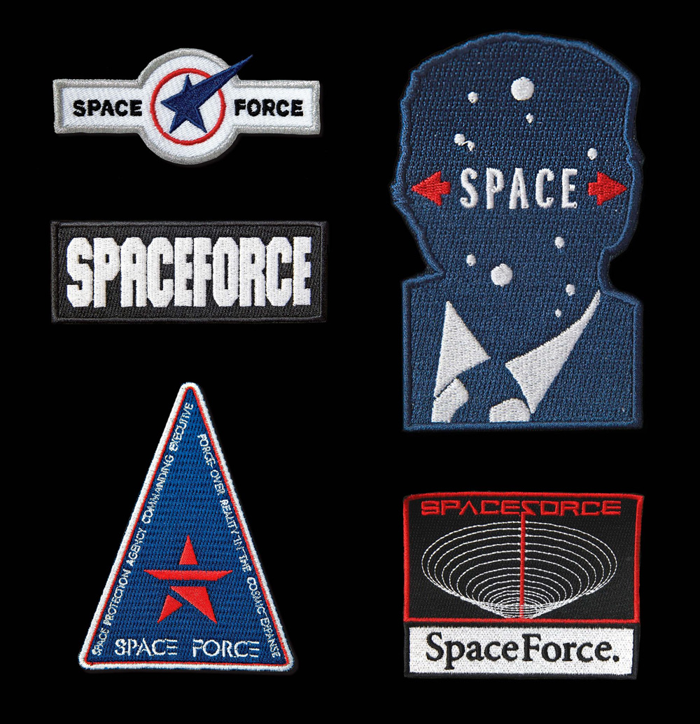 Space Force Faux Logos