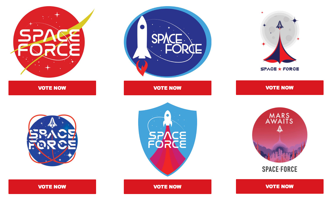 Space Force Logo Vote