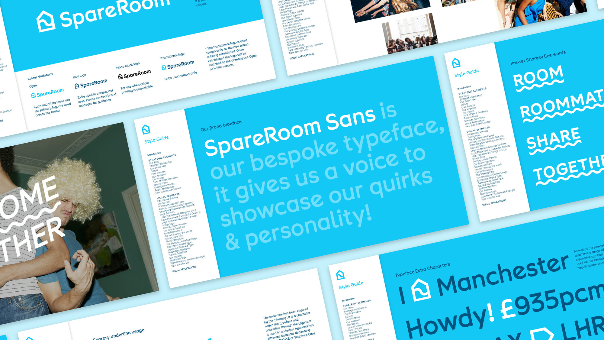 New Logo and Identity for SpareRoom by Idea Is Everything