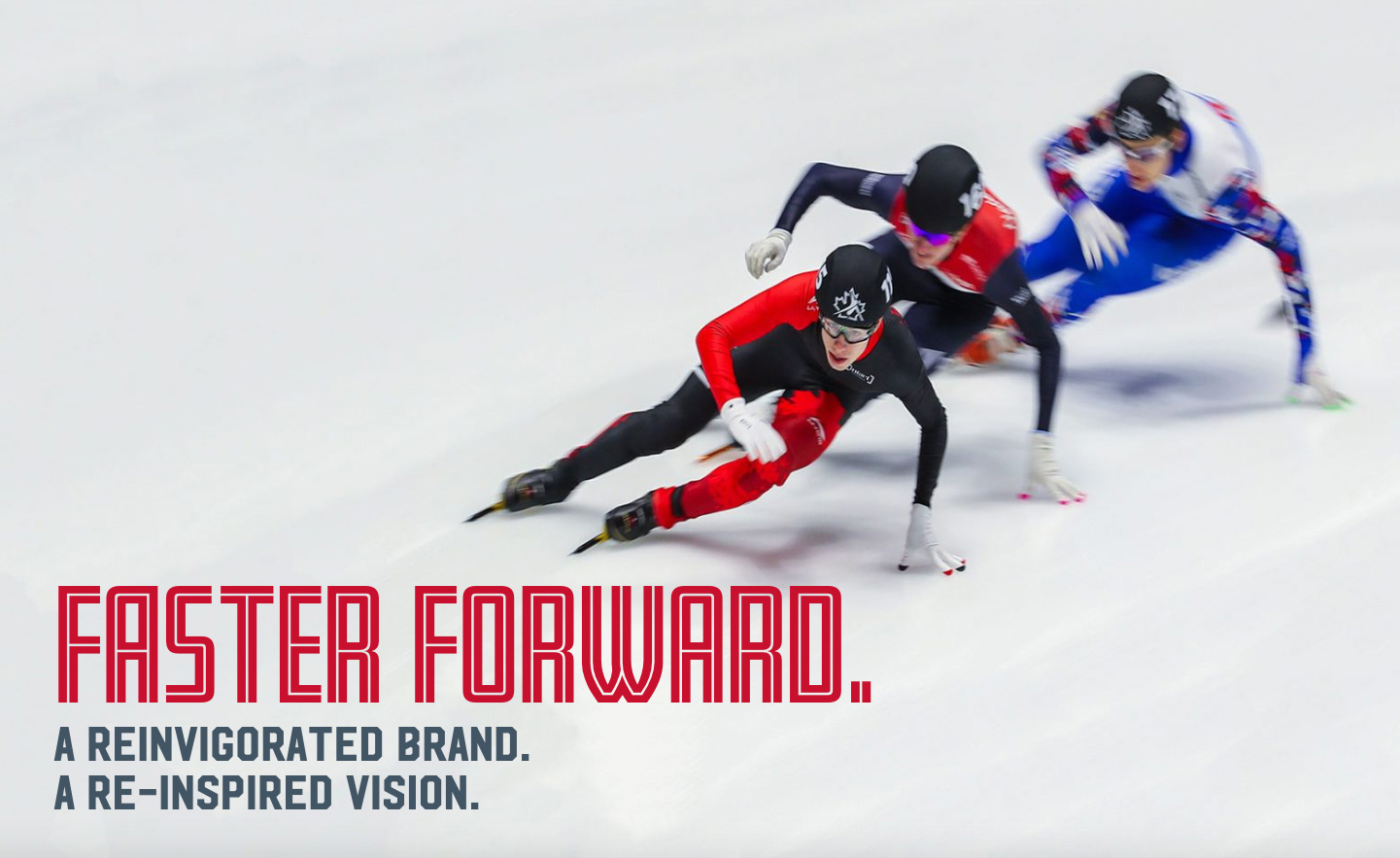 New Logo and Identity for Speed Skating Canada by Will Creative Inc.