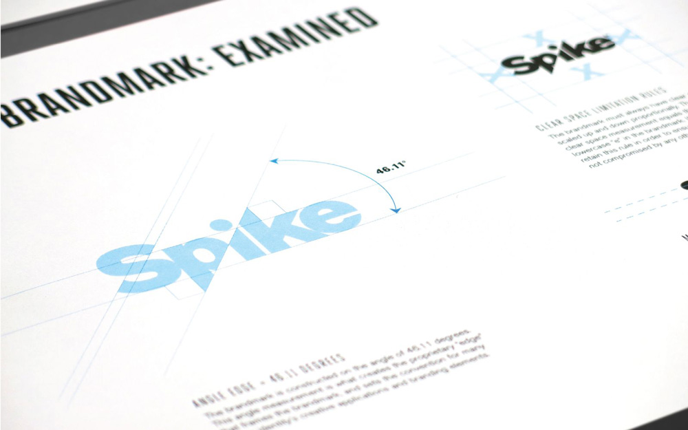 New Logo for Spike by bluemarlin