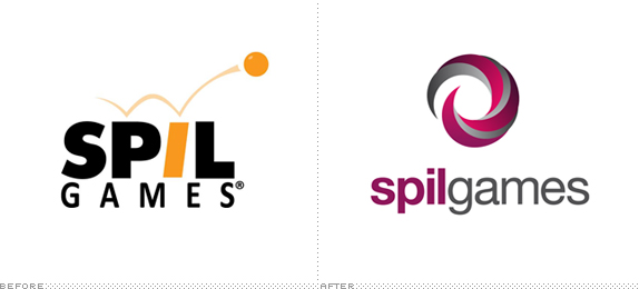 Spil Games Logo, Before and After