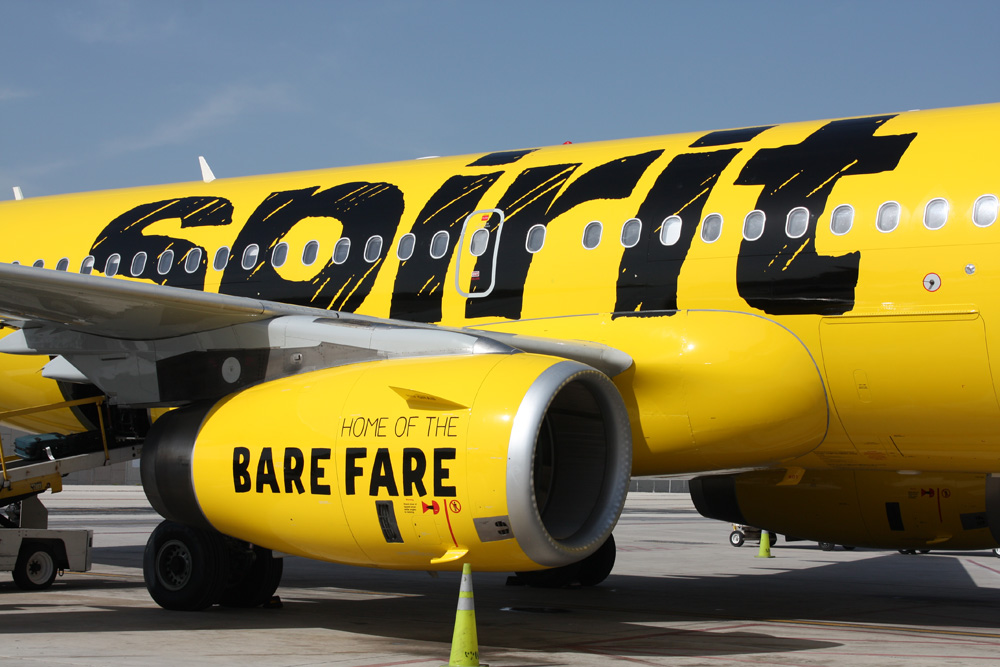 New Logo and Livery for Spirit Airlines
