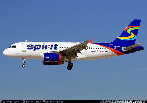 Spirit Airlines Livery Spirit Livery After