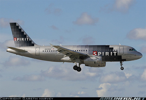 Spirit Airlines Livery Spirit Livery Before