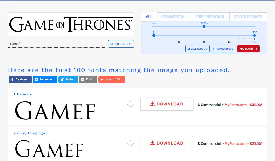 The Right Fonts are Coming with WhatFontIs.com