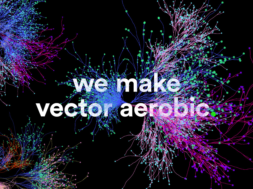Make Vector Aerobic