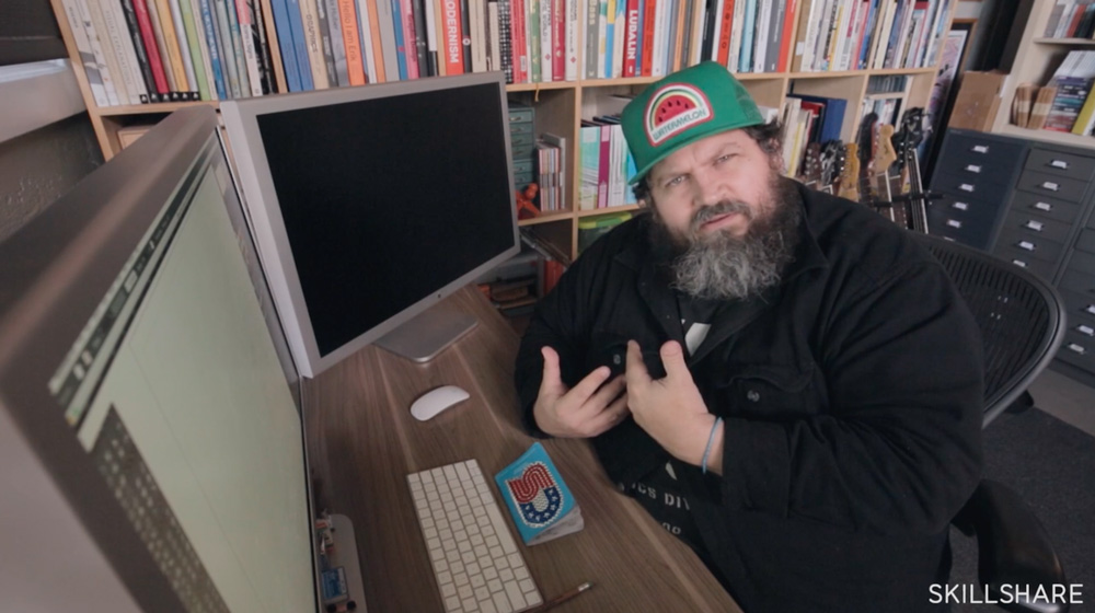 Illustration with Draplin: Iterating with Shape, Style, and Color