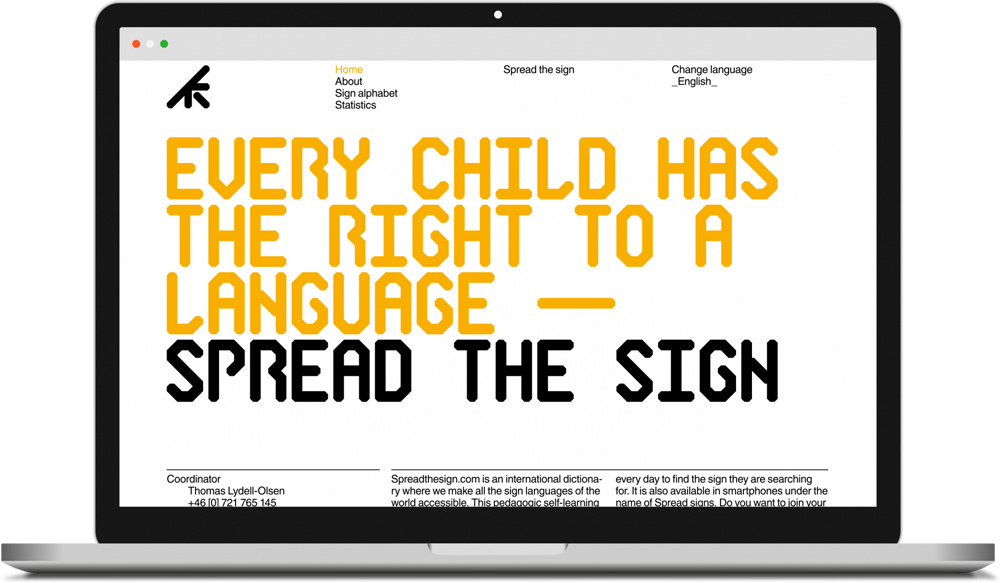 New Logo and Identity for Spread The Sign by Kurppa Hosk