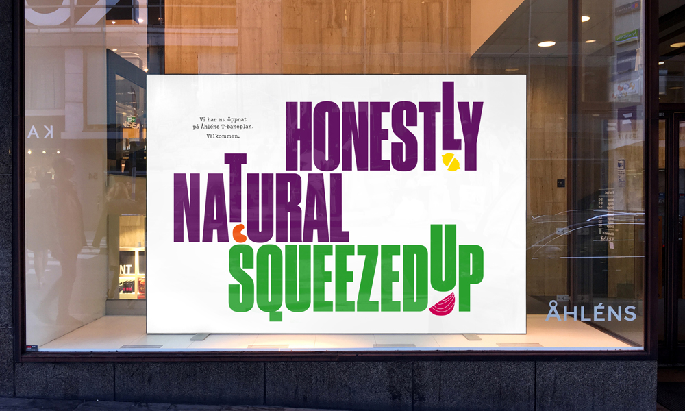 New Logo and Identity for SqueezedUp by Essen International