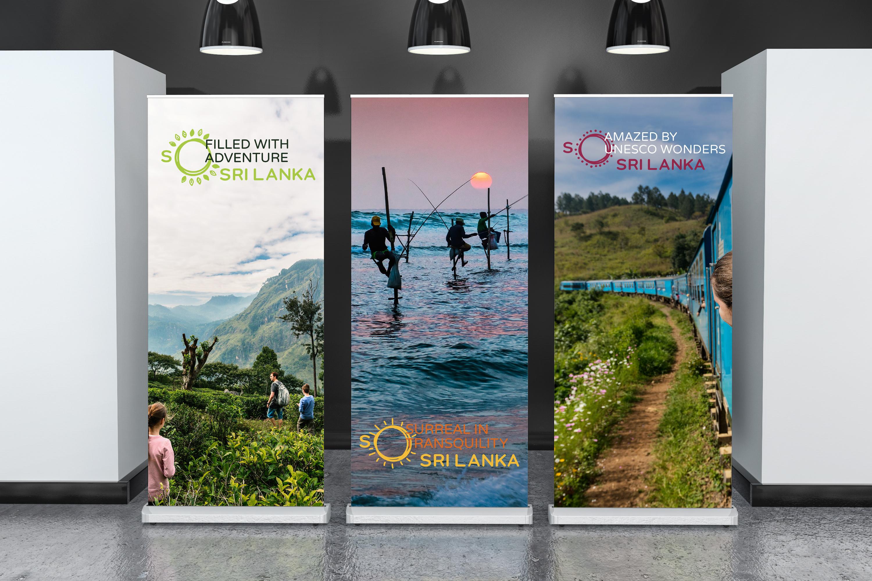 New Logo and Identity for Sri Lanka (Tourism) by Landor