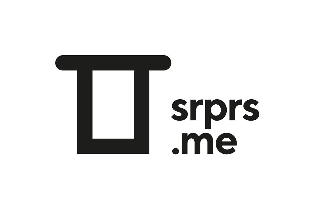 New Logo and Identity for srprs.me by Today