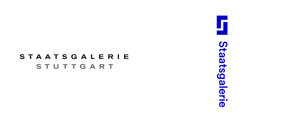 New Logo and Identity for Staatsgalerie Stuttgart by KMS Team