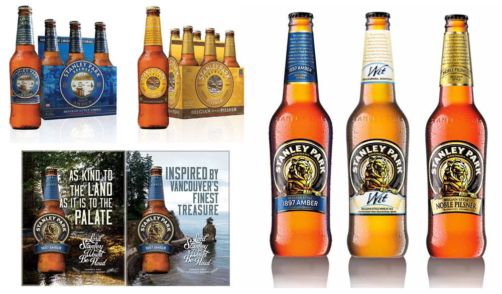 New Logo, Identity, and Packaging for Stanley Park Brewing by Will