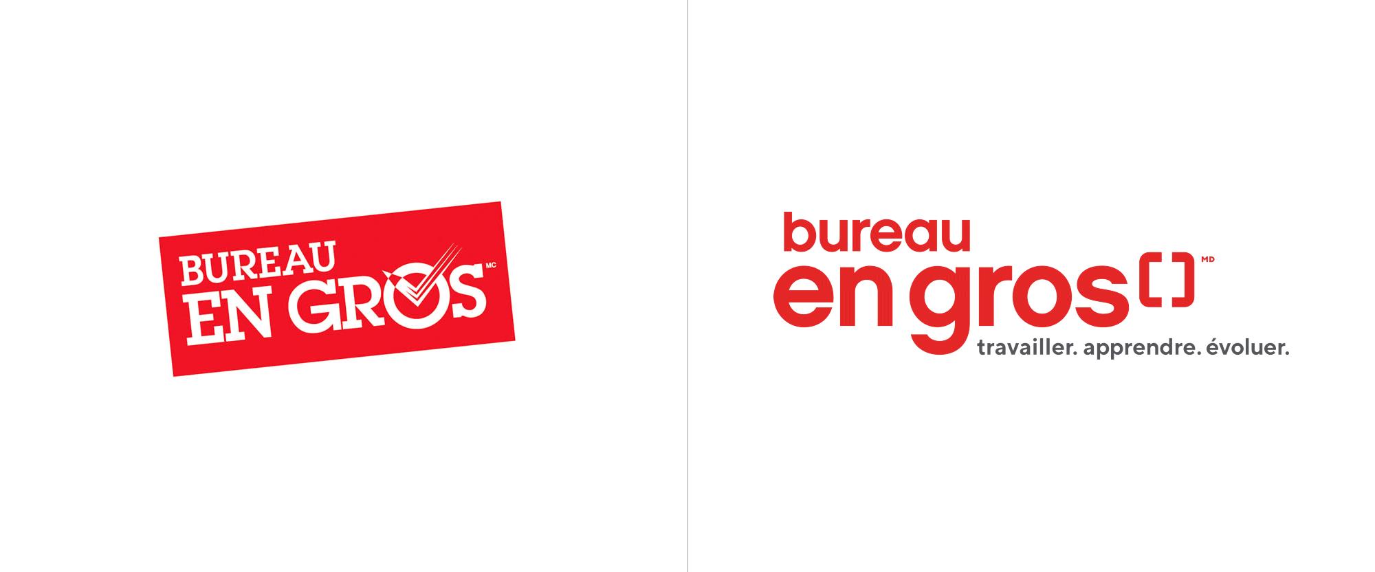 New Logo for Staples Canada
