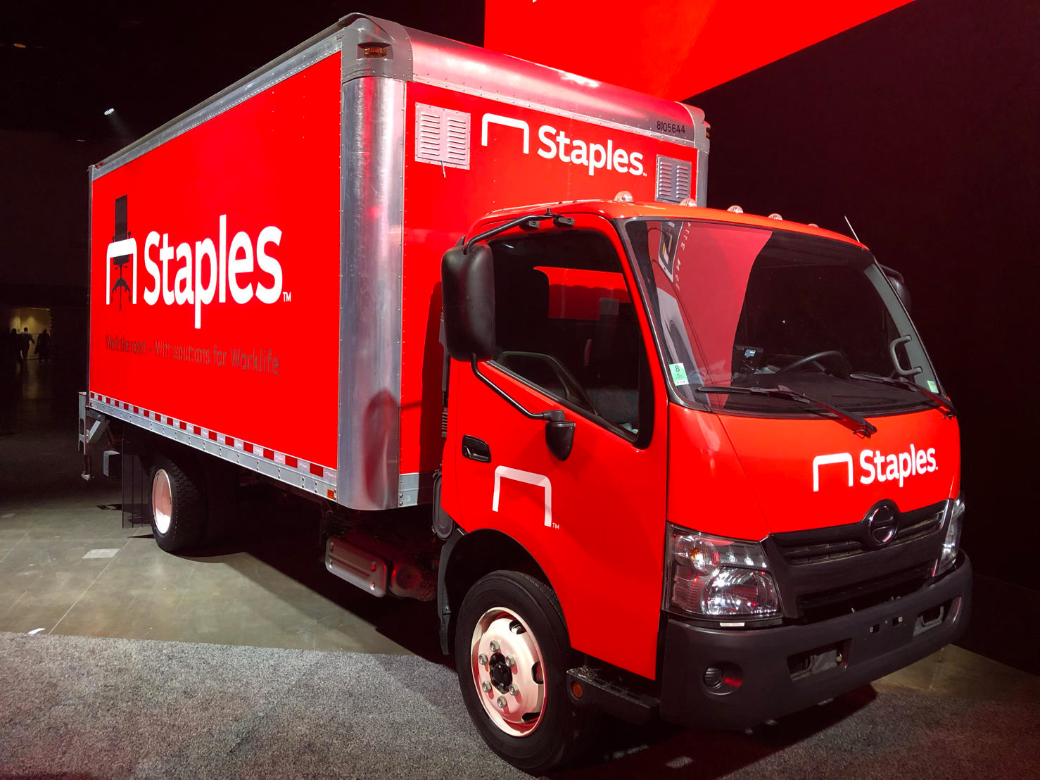 New Logo and Identity for Staples