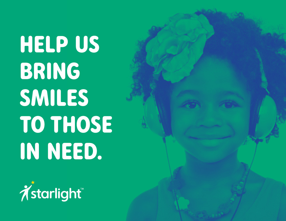 New Logo and Identity for Starlight Children's Foundation by Convoy