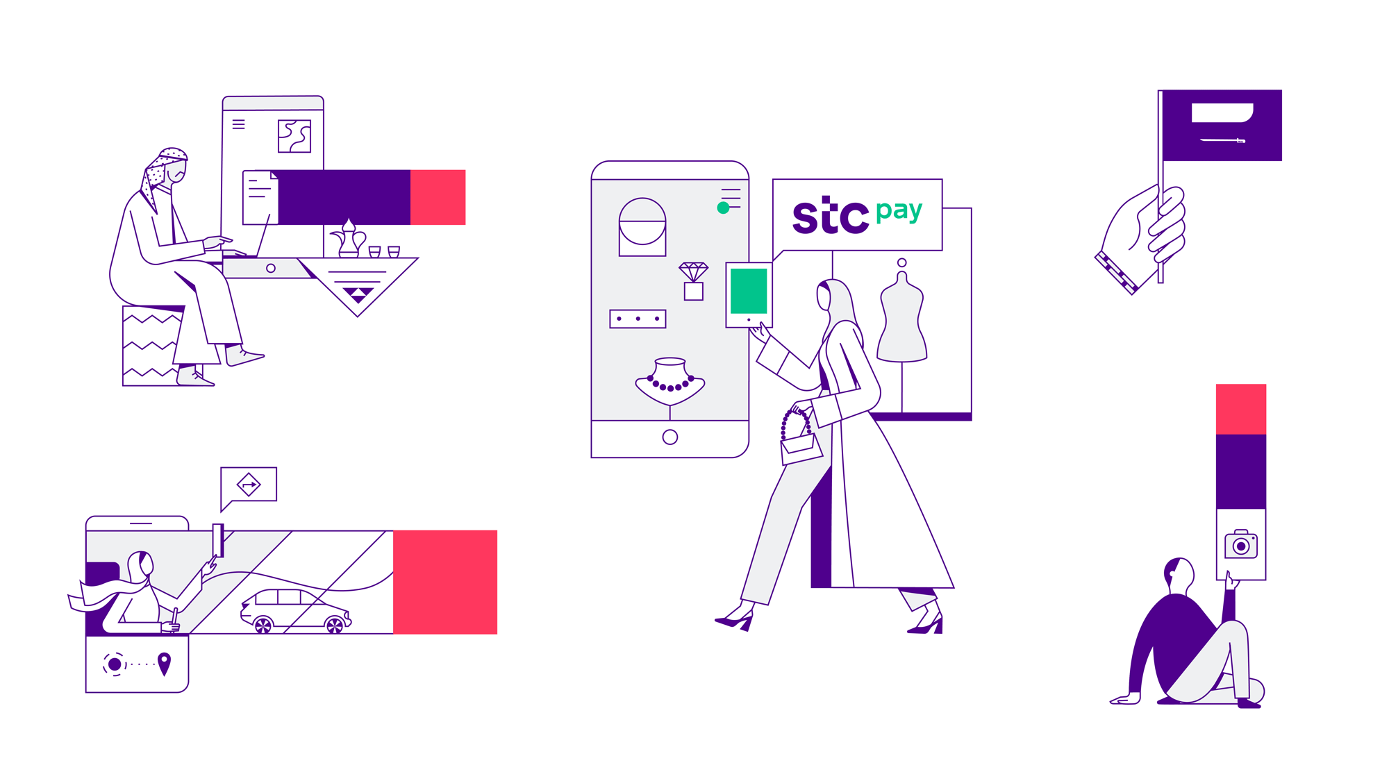 New Logo and Identity for STC by Interbrand