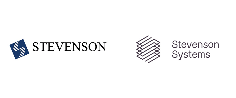 Brand New New Logo And Identity For Stevenson Systems By