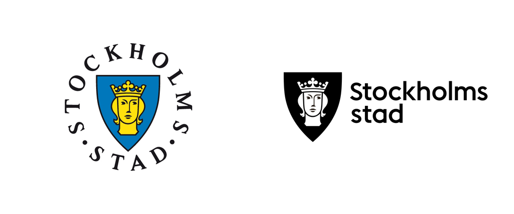 New Logo and Identity for the City of Stockholm by Essen International