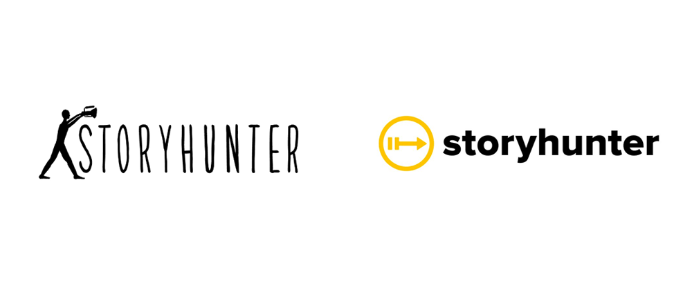 New Logo for Storyhunter by Infinia Group