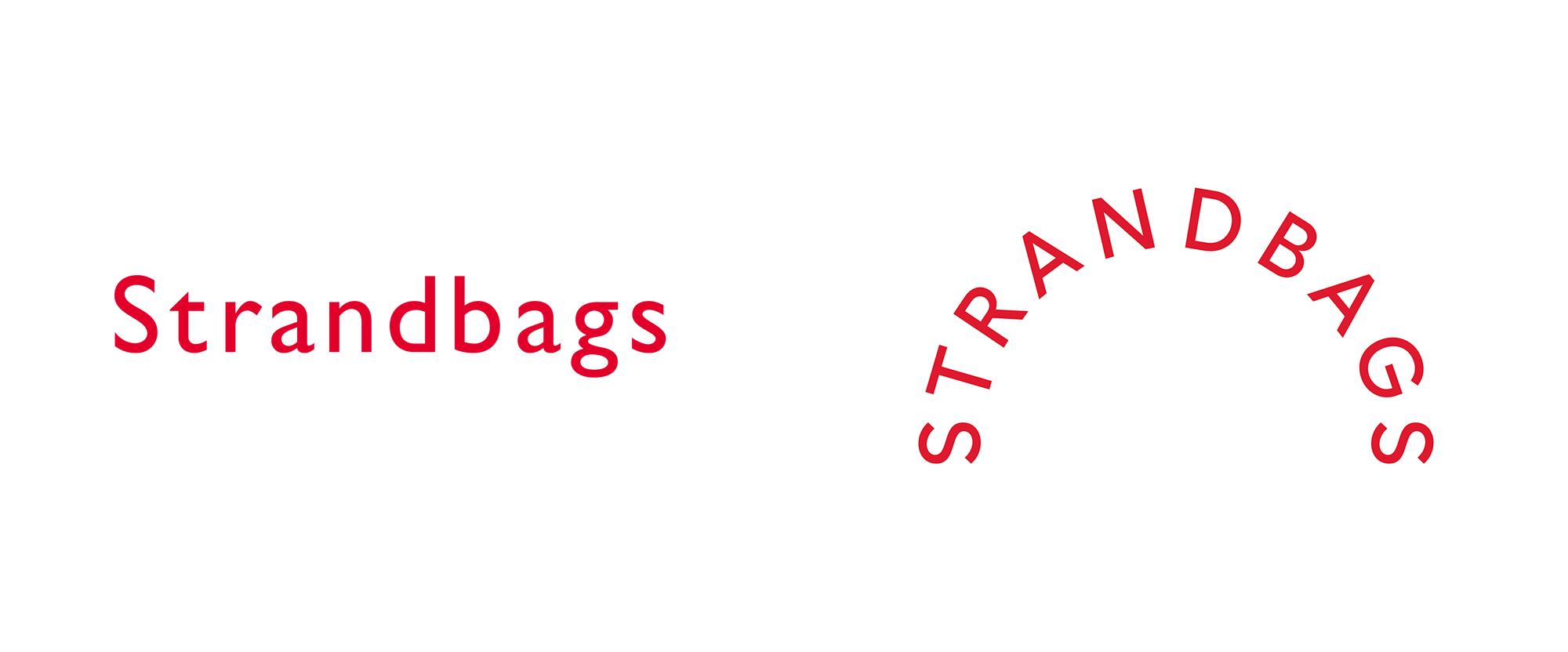 New Logo for Strandbags