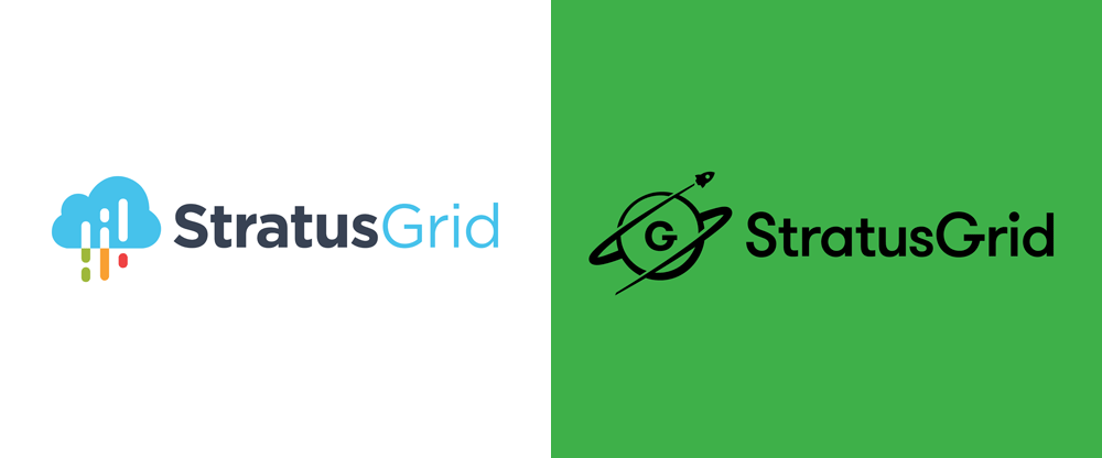 New Logo and Identity for StratusGrid by Kyle Tezak