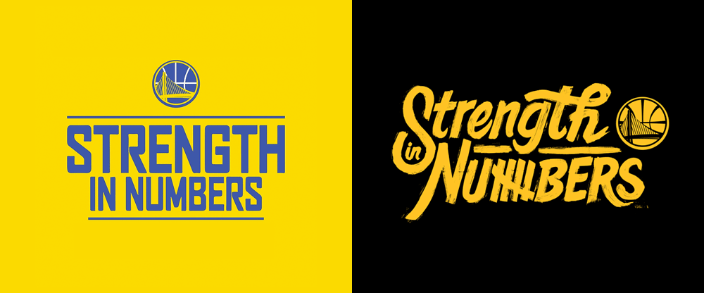 "New Logo and Campaign for ""Strength in Numbers"" by Goodby Silverstein & Partners"