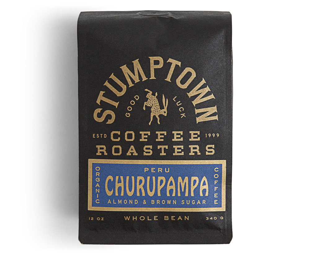 New Packaging for Stumptown Coffee Roasters by LAND