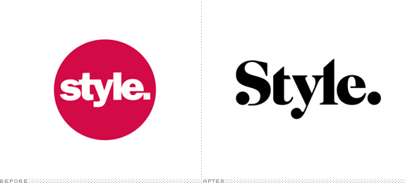 Style Logo, Before and After