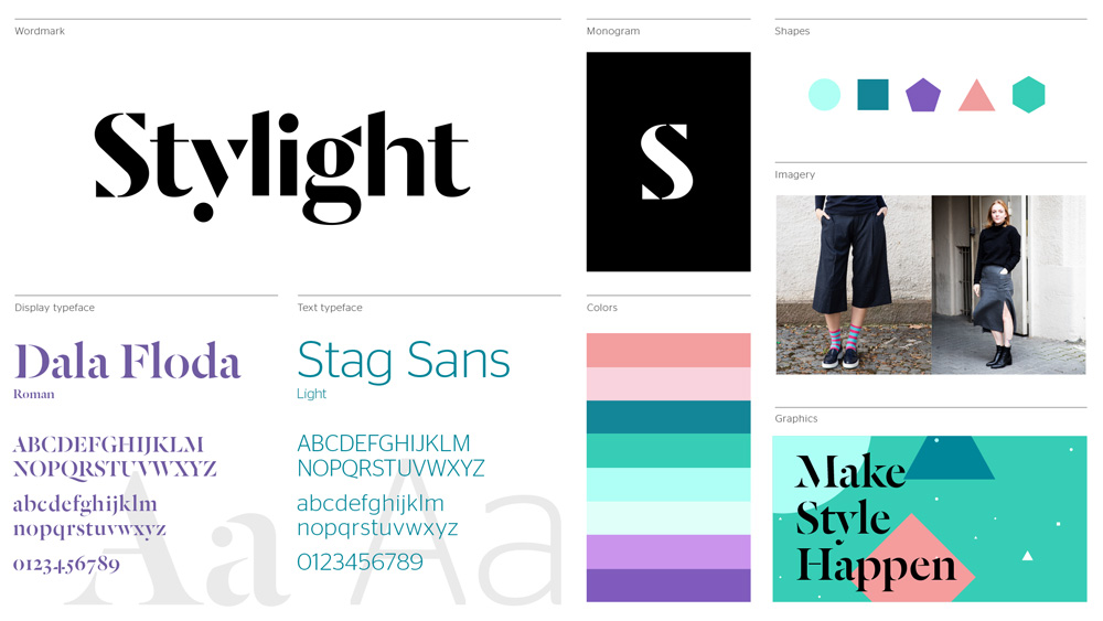 brand new new logo and identity for stylight by code theory rh underconsideration com Brand Strategy Guideline Template
