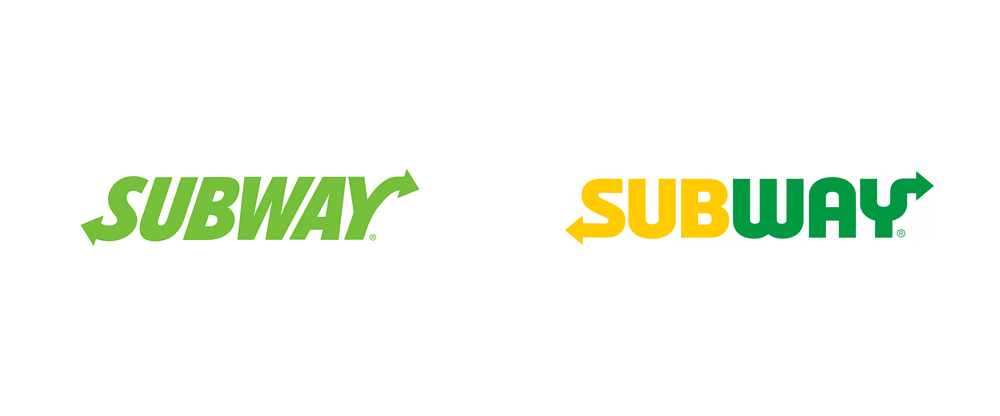New Logo for Subway