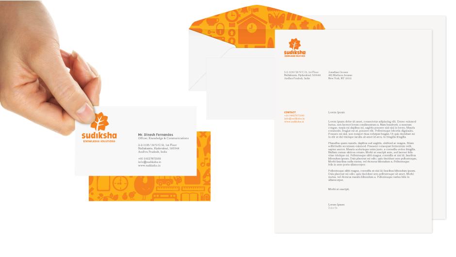 New Logo and Identity for Sudiksha by Siegel+Gale