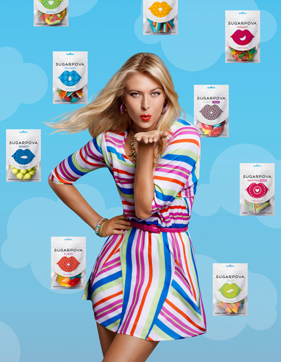 Sugarpova Logo and Packaging