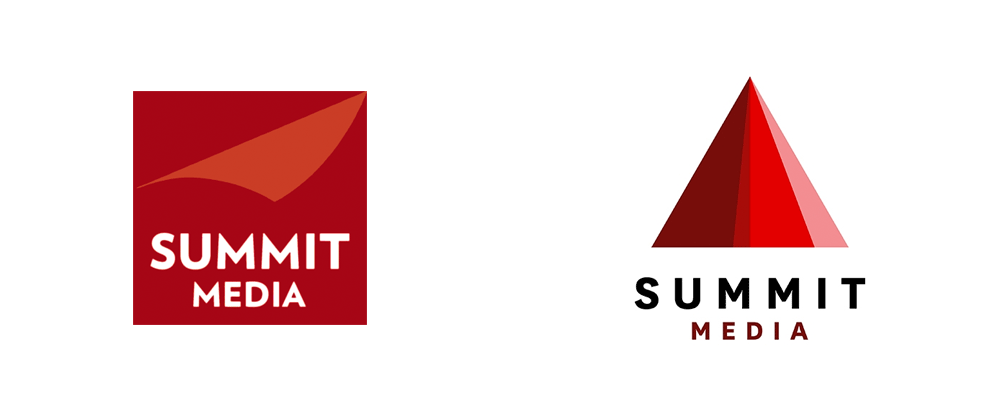 New Logo for Summit Media by Plus63 Design Co.