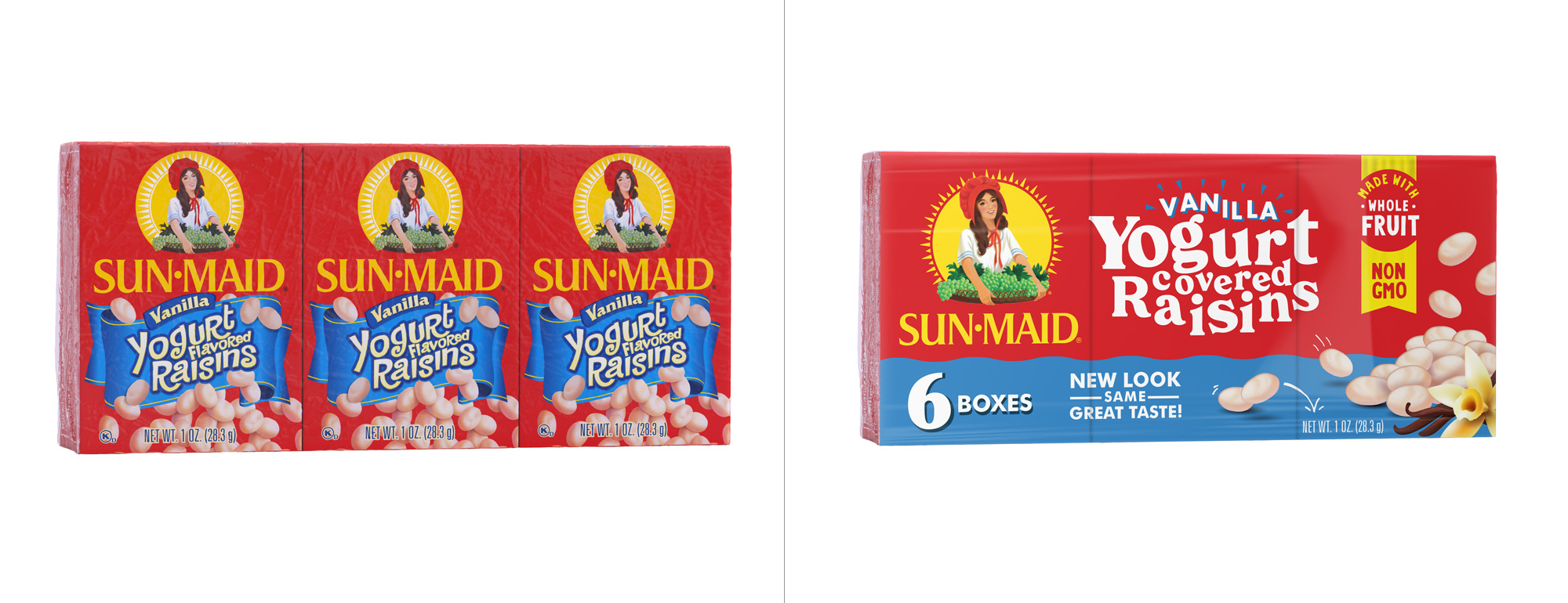 New Logo and Packaging for Sun-Maid by quench