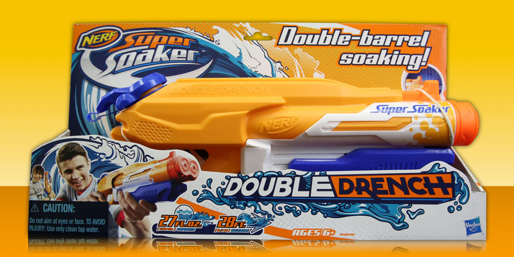 Brand New New Logo And Packaging For Super Soaker By Soup