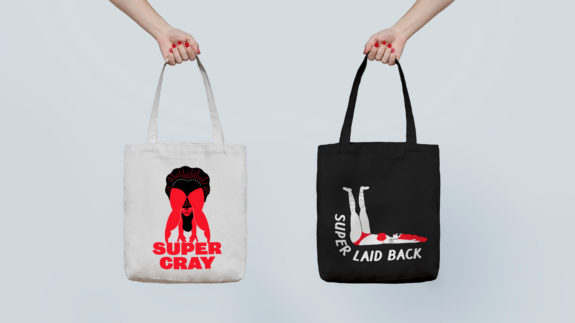 New Logo and Identity for SuperShe by &Walsh